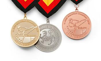 Medaille für die Europameisterschaft