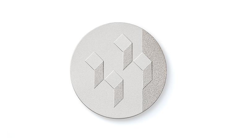 Medaglie placcate in argento per onorificenze e premiazioni