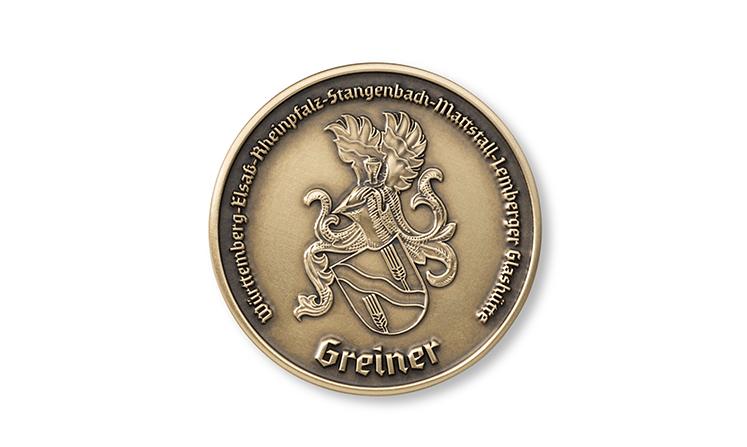 Gravierte Medaillen als Kleinserie & Einzelstücke