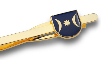 Krawattenklammer mit Emblem