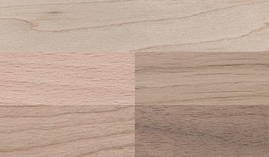 Holzsorten für Pins, Anstecker und Broschen