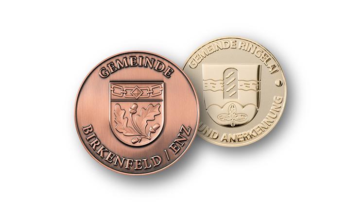 Municipal medals