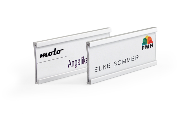 Name badges for print/write-on