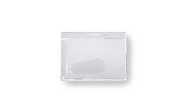 Portacartoncino in plastica rigida senza fissaggio