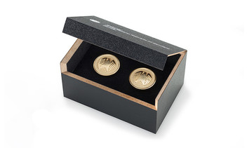 MDF presentation box for pin badges and lapel pins