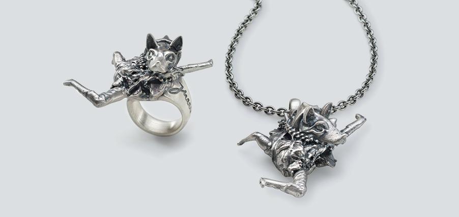 Jewellery Editions - Jonathan Meese