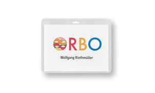 ID holder A7, horizontal format