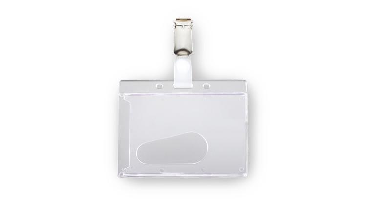 Card holders H9 mit metal clip