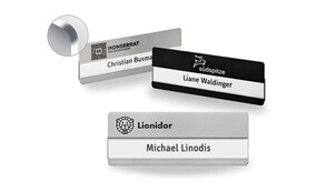 Name Badges with Rounded Corners and Engraving