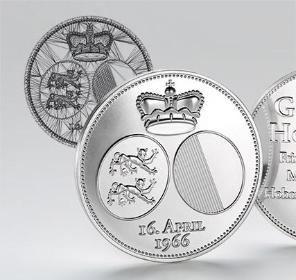 Medals: 3d design - jubilee medal