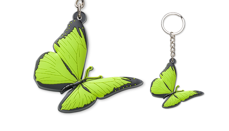 Keyring butterfly