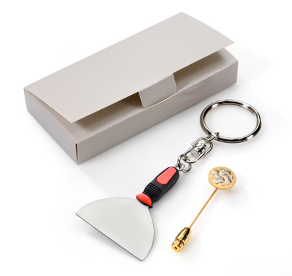 Multi-box for pin badges, lapel pins and key rings