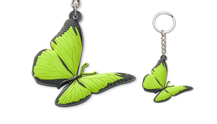 Portachiavi - farfalla