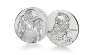 Individuelle Medaille Auguste Rodin