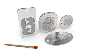Cutting Dies for Plaques, Emblems and Labels with Engraving