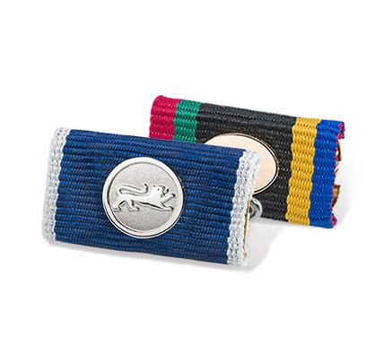 Ribbon Bars for award pins and pin badges