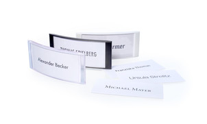 Name badges to design yourself in various colours