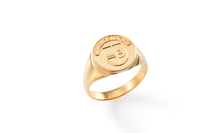 Signet ring for honorary citizens