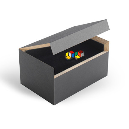 MDF box for pin badges and lapel pins