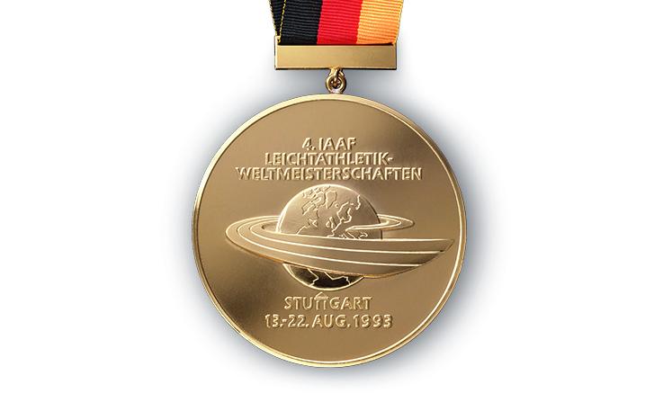 Medaillen Weltmeisterschaft