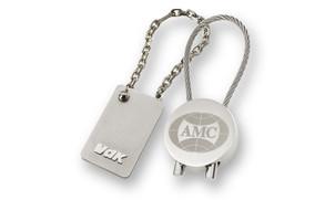 Key rings made of metal