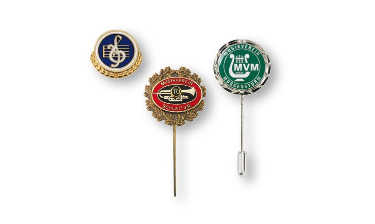 Vereinsabzeichen für Musikvereine