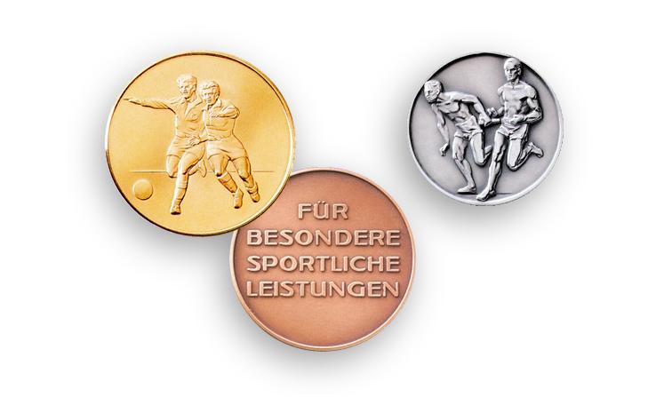Medaglie per lo sport