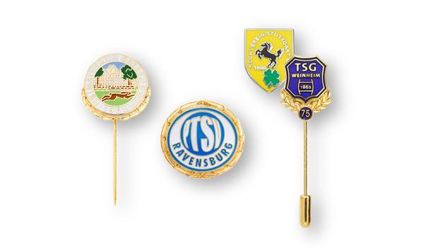 Ehrennadeln und Vereinsabzeichen