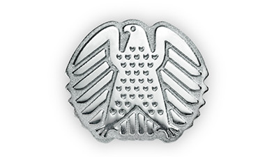 Pins für den deutschen Bundestag