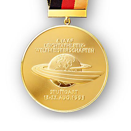 Gold medal for the Athletics Championship Stuttgart