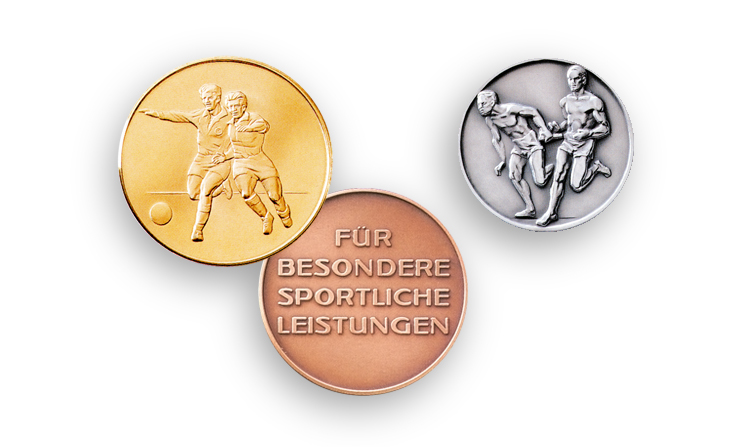 Medals for the sport